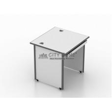 Meja Komputer + Panel Keyboard (Grey) - CD 128 - M Class