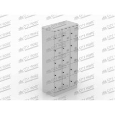Metals - ML 8815 B - Locker 15 Pintu (GREY)