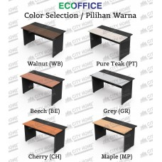Modera ECOFFICE - MOF 161 - MODERA OFFICE Office Desk One Seater - Meja Kantor ECOFFICE (Tanpa Laci) Uk. 160 cm