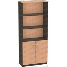 Modera Powell Three - PCT 8001 BE - MODERA OFFICE High Cabinet With panel Door - Lemari Tinggi Dengan Pintu Bawah Panel