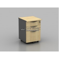 Laci Dorong 2 Laci, 1 Filing (Central Lock) (Maple - Post Forming) - SMD 7133 - S Class