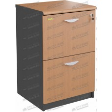 Euro DIAMOND - DFC 4802 Filing Cabinet 2 Laci (Cherry Black)