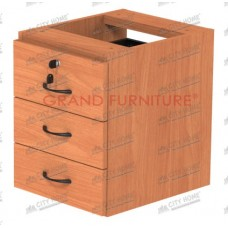 GRAND FURNITURE - Laci Gantung (3 Laci) - Diva - DVL KL