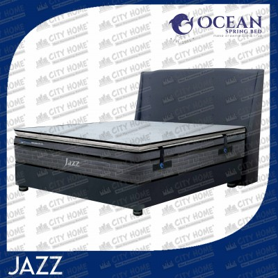 Jazz - Portable Topper & Pocketed Spring - Ocean Springbed