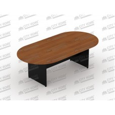 Meja Meeting Oval 180cm (Cherry/Maple)  PLATINUM  - UCT 2754/2764