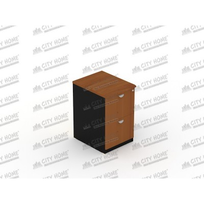 Filing Cabinet 2 Laci (Central Lock) (Cherry/Maple)  PLATINUM  - UFL 2252/2262
