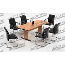 Five Series - Conference Table - Warna Cherry