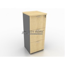 Filing Cabinet 3 Filing (Central Lock) (Maple) - BFC 7403 - B Class