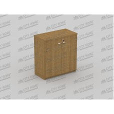 Modera Powell One - PCL 7492 - MODERA OFFICE Lower Panel Door Cabinet - Lemari Pendek Pintu Panel