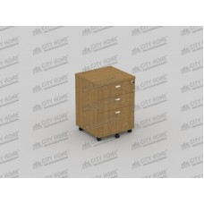 Modera Powell One - PMD 7133 - MODERA OFFICE Mobile Pedestal Drawer - Laci Sorong (2 Laci + 1 Laci Filing + Kunci Central Lock)