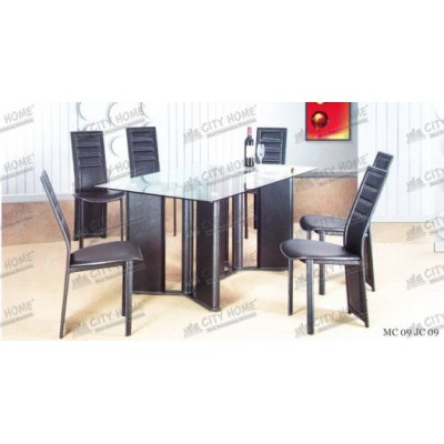 MC 09-JC 09 -  Dining Set - 1 Meja + 6 Kursi