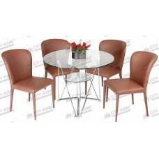 TC 12-JC 12 -  Dining Set - 1 Meja + 4 Kursi