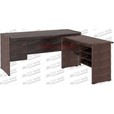 GRAND FURNITURE - Meja Kantor Bentuk L - Classic Dynamic - DC MT 504 S