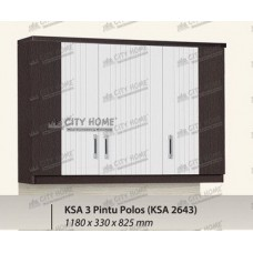 ANATA Series - KSA 2643 - Kitchen Set Atas 3 Pintu
